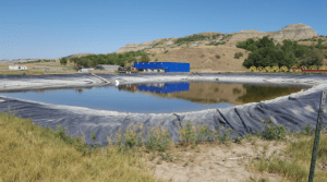 Wylie Bice's illegal water depot. It'll be gone pretty soon.