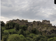 Sterling Castle, where Mary Queen of Scots was born.