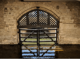 Traitor's Gate, Tower of London. Shivers down my spine.