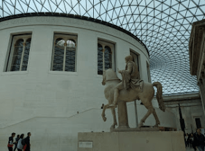 Almost a full day at the British Museum, home of the Elgin Marbles and millions of other fascinating objects.