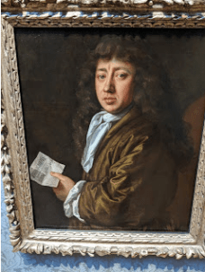 Samuel Pepys, National Portrait Gallery.