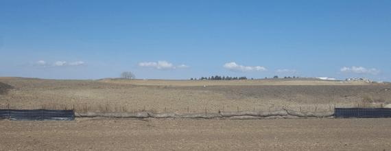 Refinery site May 2020. No sign, no wall.