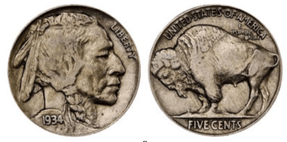 The Indian Head nickel, designed by Fraser, was introduced in 1913.