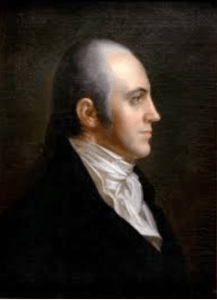Aaron Burr, mastermind behind Jefferson's electoral victory in New York.