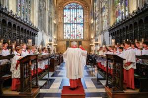 King's College Choir, Cambridge, England (Photo: Kevin Leighton)