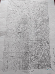 The 1905 USGS map from my collection.