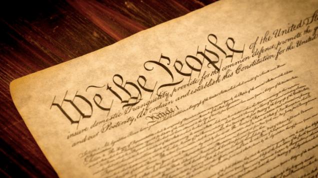 """The Big """"C"""" Constitution."""