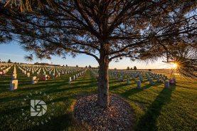 North Dakota Veteran's Cemetery.