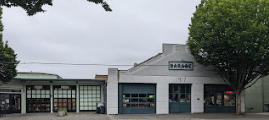 On a walking tour of historic Port Townsend, I discovered the garage where my mother worked in the early 1950s.