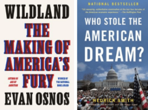 Clay has been reading these books by Evan Osnos and Hedrick Smith to think through the question, what happened?