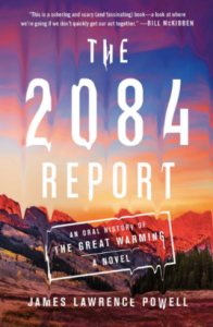 Powell's novel on the climate crisis of 2084. (Simon and Schuster)