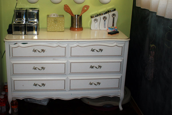 Before the Chalk Paint