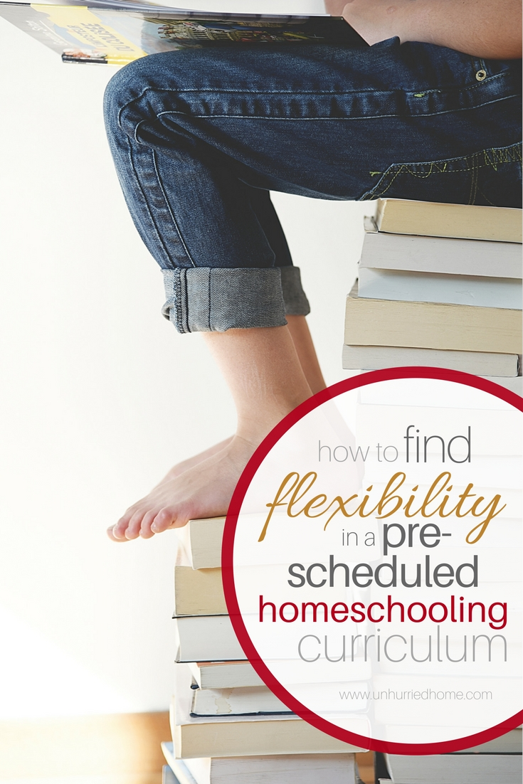 How to Find Some Flexibility in a Pre-Scheduled Curriculum