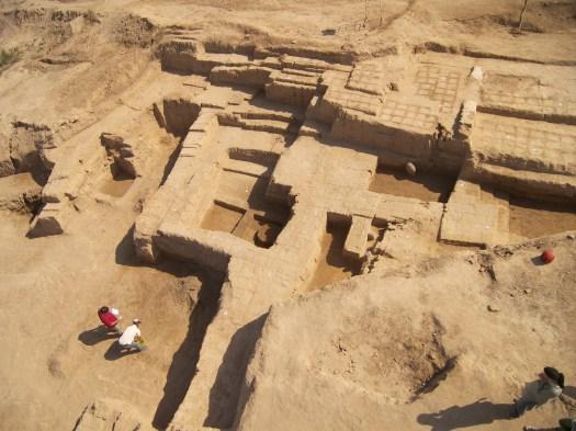 Раскоп IV: вид сверху