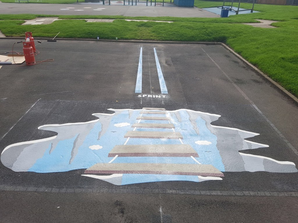 Case Study: 3D Playground Markings