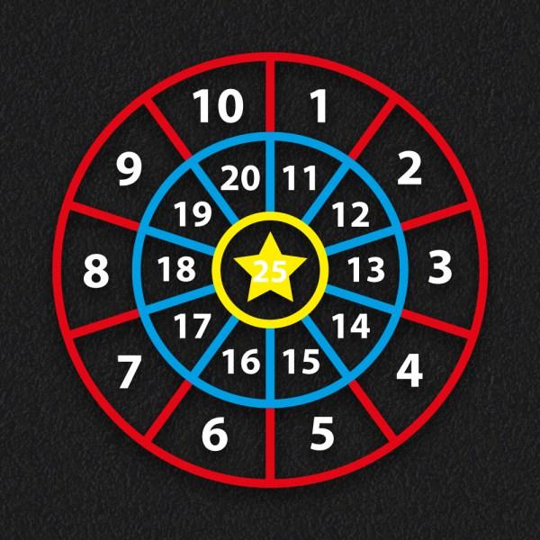 1 25 Target 1 - Number Target
