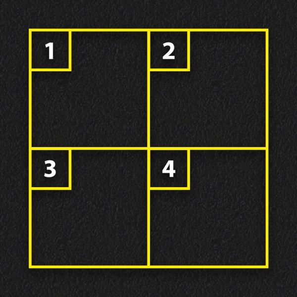 4 Square Game - Four Square Game
