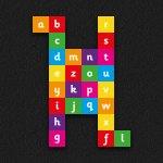 Alphabet Grid Solid