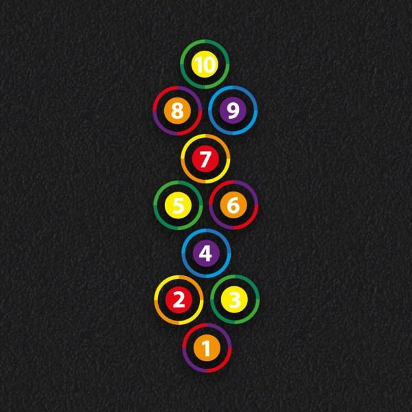 Circle Hopscotch19 - Circle Hopscotch 2019