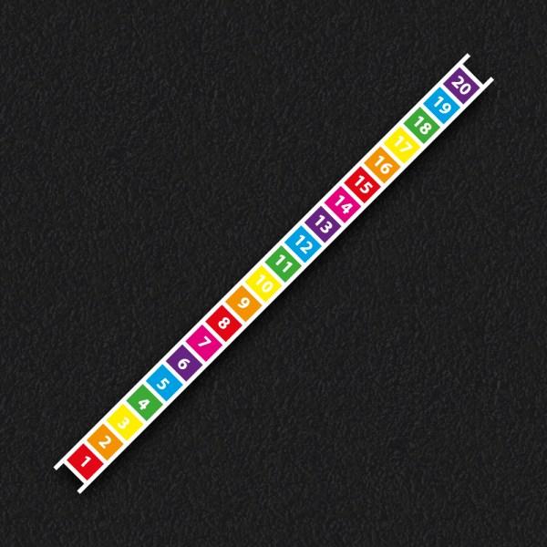 Number Ladder - 1 - 20 Number Ladder