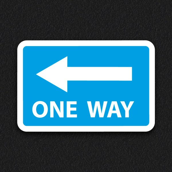 One Way Sign - One Way