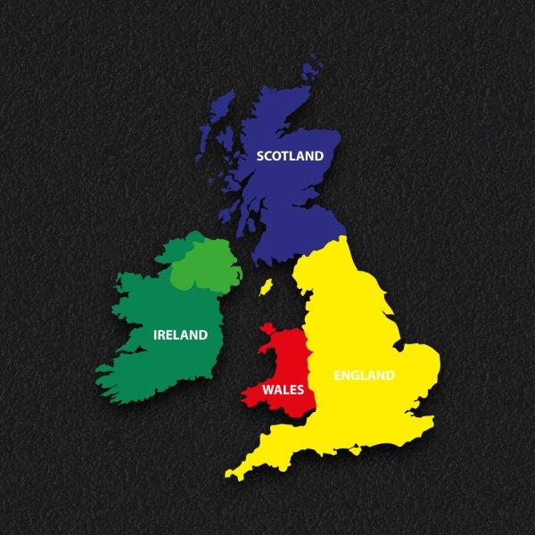 UK Map 2 1 - Uk Map 2