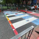 Bespoke Zebra Crossing