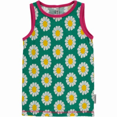 Bright daisy organic cotton Maxomorra vest