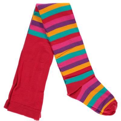 maxomorra-red-mix-stripy-tights-organic