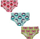 Maxomorra organic cotton hipster knickers | strawberry | butterfly