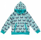 Crab hoody top by Maxomorra in organic cotton
