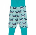 Crabs organic cotton baggy rib trousers from Maxomorra