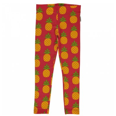 Maxomorra pineapple leggings organic cotton