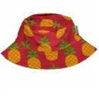 Maxomorra pineapple print organic sun hat