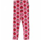 Strawberry organic cotton leggings from Maxomorra (Age 2-4)