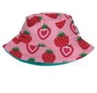 Maxomorra strawberry print organic sun hat (Age Under 2)