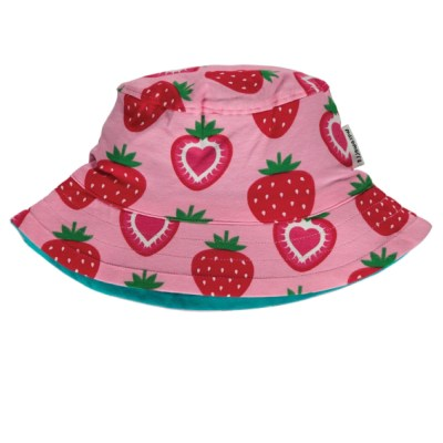 Maxomorra strawberry organic cotton sun hat