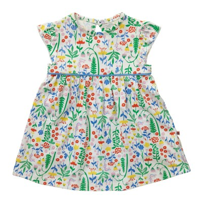 Piccalilly organic summer meadow flowers baby body dress