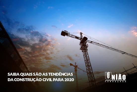 tendências da construção civil para 2020
