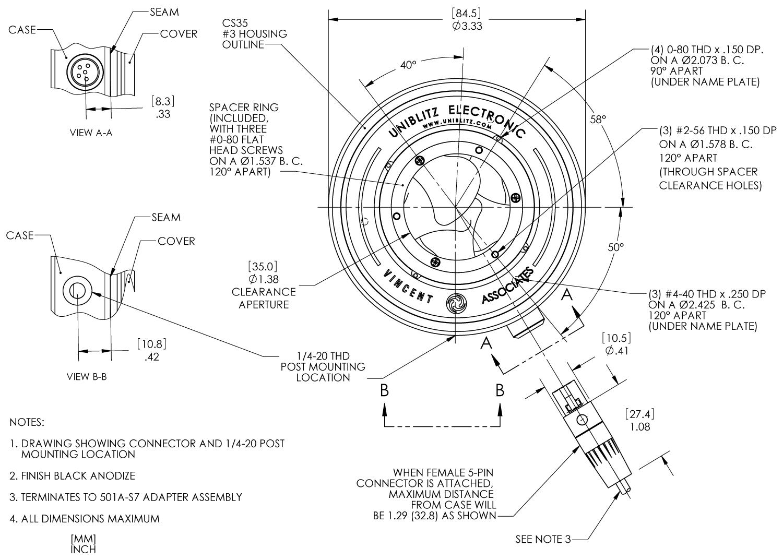 Cs35 35mm Optical Shutter