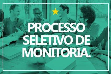 Processo Seletivo Monitoria