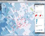Arcgis online ejemplo geomarketing academias franquicias