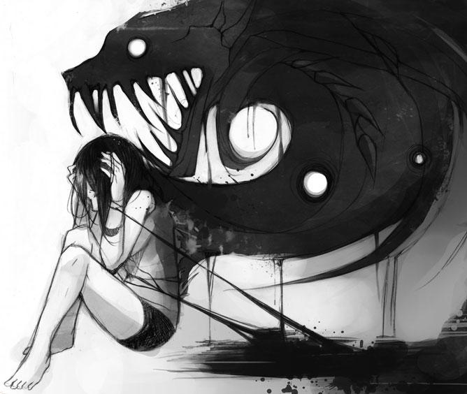 A félelem sötét megtestesítője.
