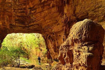 Barlang.