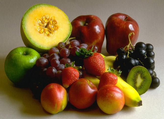 Gyümölcsök.