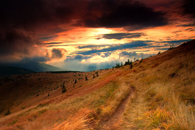 Nice landscape.