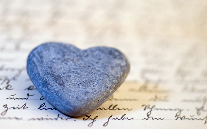 stone heart-love.