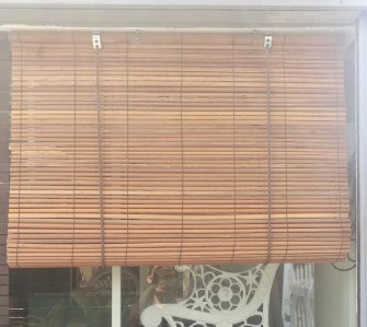 Bamboo blind