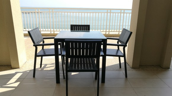 Quayside condo balcony dining set