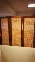 Rattan screen